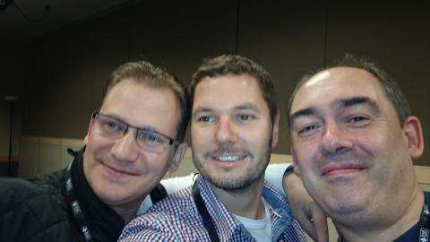 Marius Constantinescu, Mark Stokes, Jamie McAllister