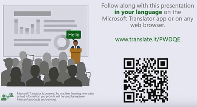 Real Time Presentation Subtitles and Translation