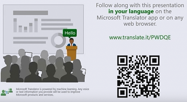 Real Time Presentation Subtitles and Translation
